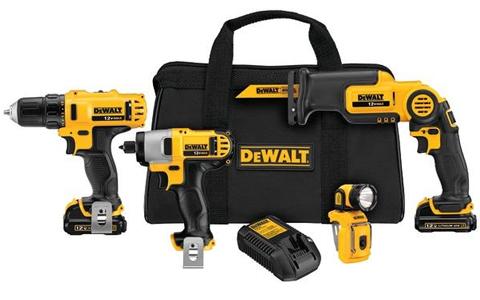 DEWALT DCK413S2 features
