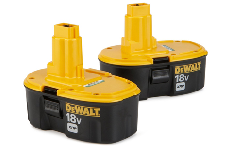 DEWALT DC9096-2 18 volt XRP NiCad Battery 2 Pack